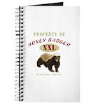 Property of Honey Badger Journal
