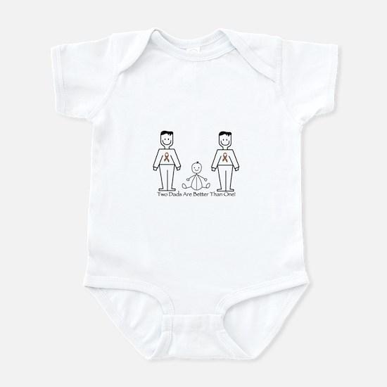 2 Dads (LGBT) Infant Bodysuit