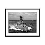 USS BOWEN Framed Panel Print