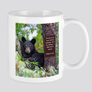 Baby Black Bear - Psalms 62-6 Mugs