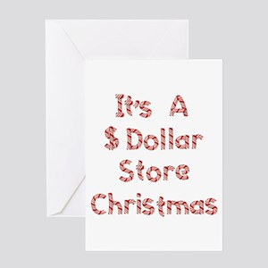 Bad Economy Christmas Greeting Card