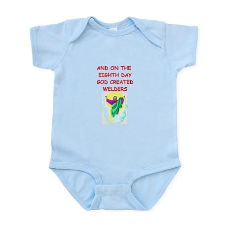 welders Infant Bodysuit