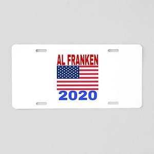 AL FRANKEN 2020 Aluminum License Plate