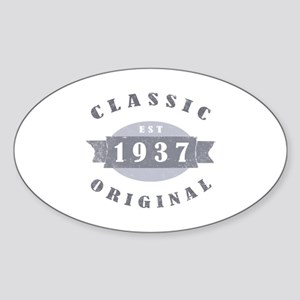 1937 Classic Original Sticker (Oval)