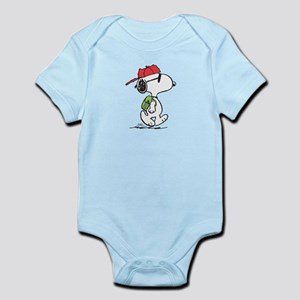 Snoopy Backpack Infant Bodysuit