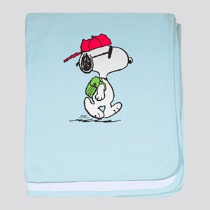 Snoopy Backpack baby blanket
