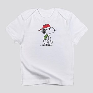 Snoopy Backpack Infant T-Shirt