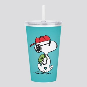 Snoopy Backpack Acrylic Double-wall Tumbler