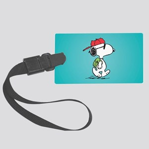 Snoopy Backpack Large Luggage Tag