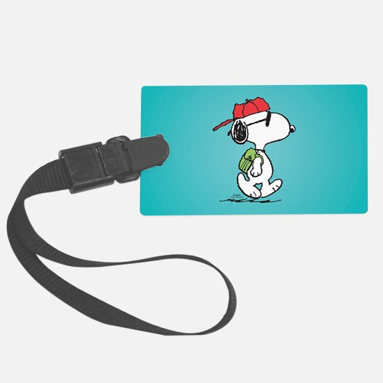 Snoopy Backpack Luggage Tag