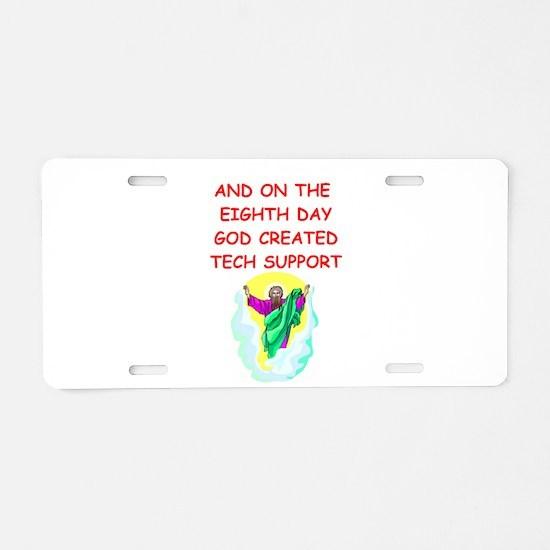 teachers Aluminum License Plate