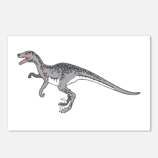 Velociraptor Postcards (Package of 8)