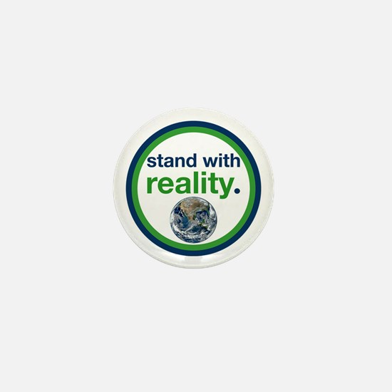 Stand With Reality Mini Button