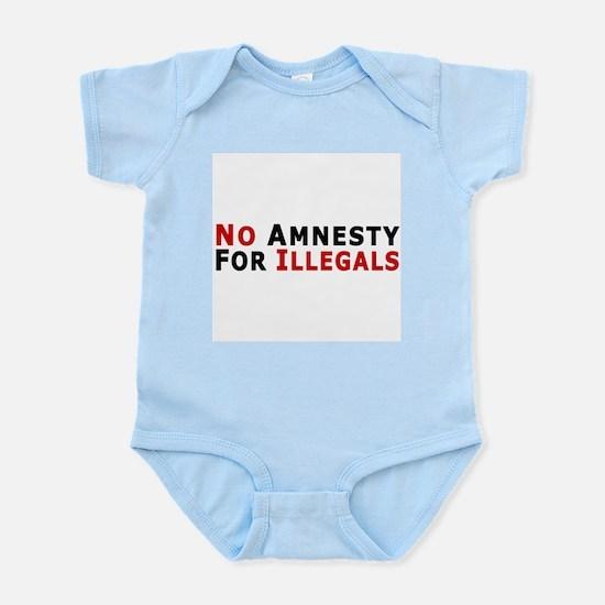 No Amnesty D24 Infant Creeper