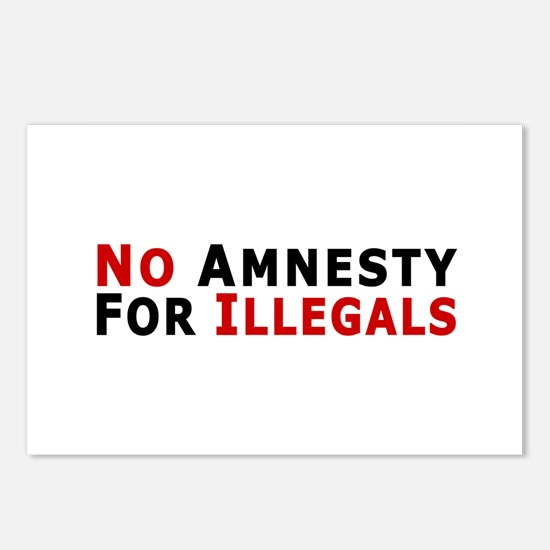 No Amnesty D24 Postcards (Package of 8)