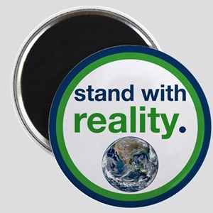 Stand With Reality Magnets