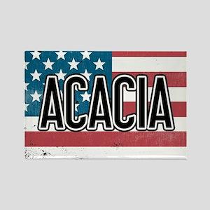 Acacia Flag Rectangle Magnet