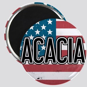 Acacia Flag Magnet