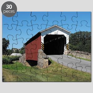 Weaver's Mill Covered Bridge Puzzle