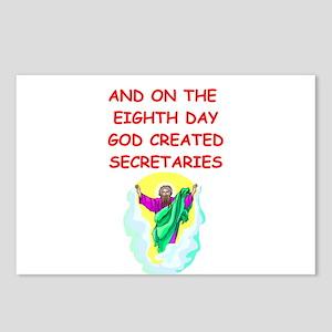 secretaries Postcards (Package of 8)