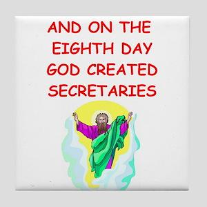 secretaries Tile Coaster