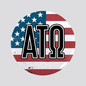 Alpha Tau Omega Flag Button