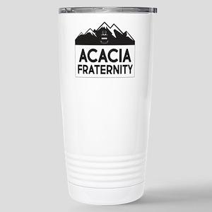 Acacia Mountains 16 oz Stainless Steel Travel Mug