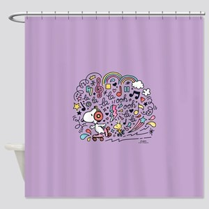 Peanuts Back to School Shower Curtain