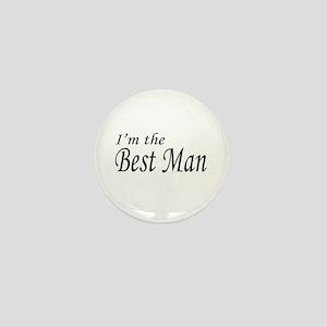 I'm the Groom Mini Button