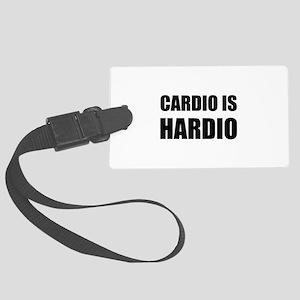Cardio Is Hardio Luggage Tag