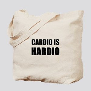 Cardio Is Hardio Tote Bag