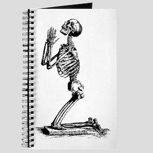 Praying Skeleton Journal