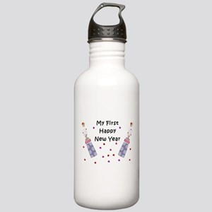 Baby's First New Year Stainless Water Bottle 1.0L