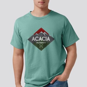 Acacia Mountain Diamon Mens Comfort Color T-Shirts