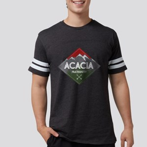 Acacia Mountain Diamond Mens Football T-Shirts
