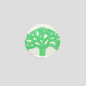Oakland Tree Lim Green Mini Button