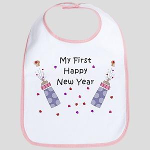 Baby's First New Year Bib