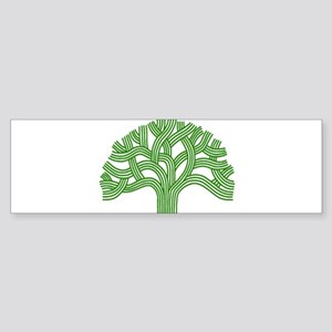 Oakland Tree Green Sticker (Bumper)