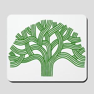 Oakland Tree Green Mousepad