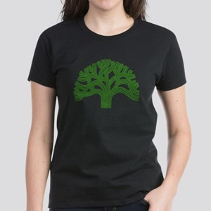 Oakland Tree Green Women's Dark T-Shirt