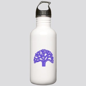 Oakland Tree Blue Stainless Water Bottle 1.0L