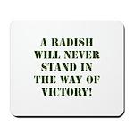 A Radish Mousepad