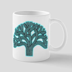 Oakland Tree Hazed Teal Mug