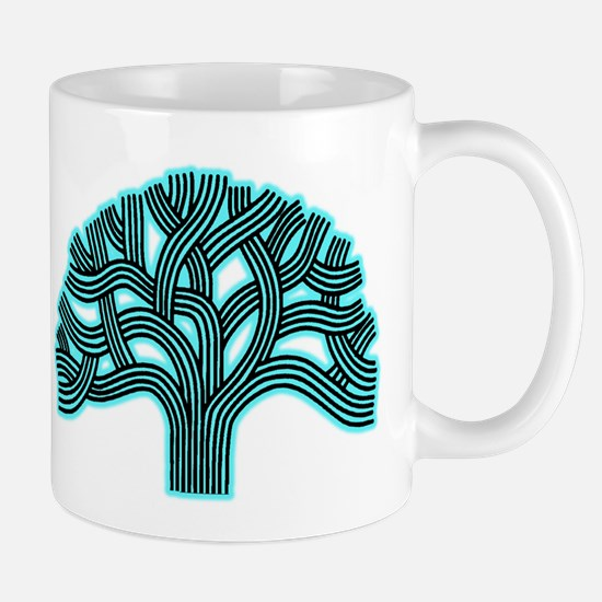 Oakland Tree Hazed Teal Mug
