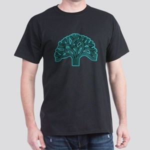 Oakland Tree Hazed Teal Dark T-Shirt