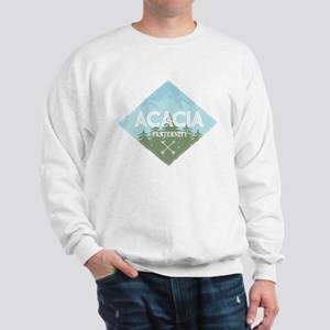 Acacia Mountain Diamond Blue Sweatshirt