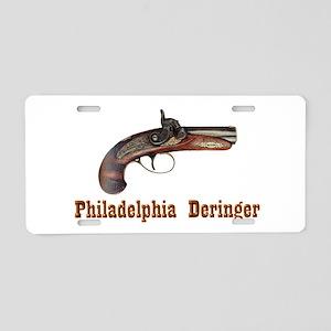 Philadelphia Deringer Aluminum License Plate