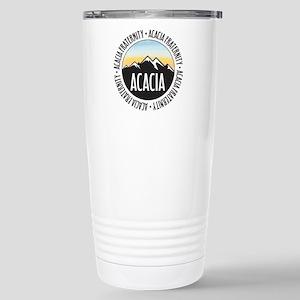 Acacia Sunset 16 oz Stainless Steel Travel Mug
