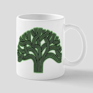 Oakland Tree Hazed Green Mug