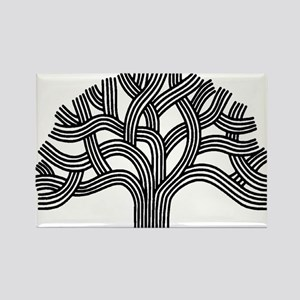 Oakland Tree Rectangle Magnet